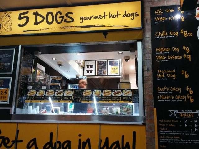 5 dogs Venues