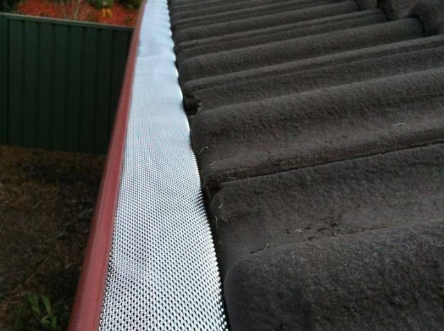 D-Fence Gutter guard product