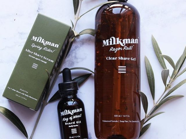 Milkman Grooming products