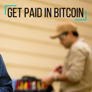 Get Paid in Bitcoin
